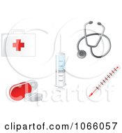 Clipart First Aid Icons Royalty Free Vector Illustration