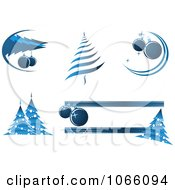 Clipart Christmas Icons 10 Royalty Free Vector Illustration