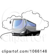 Clipart Tour Bus Royalty Free Vector Illustration