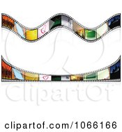 Clipart Two Film Strip Rules Royalty Free Vector Illustration by dero