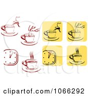 Clipart Java Logos 1 Royalty Free Vector Illustration