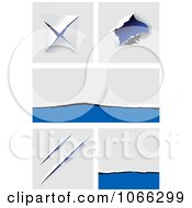 Clipart Rips And Tears 2 Royalty Free Vector Illustration