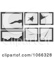 Clipart Rips And Tears 3 Royalty Free Vector Illustration