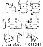 Royalty-Free (RF) Dairy Icon Clipart, Illustrations, Vector