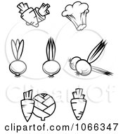 Clipart Black And White Food Icons 10 Royalty Free Vector Illustration