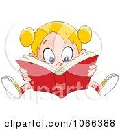 Girl Reading A Good Book
