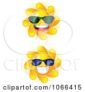 Cheery Suns Wearing Shades