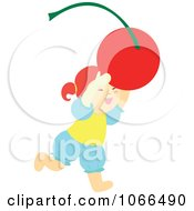 Irish Girl With A Cherry 1
