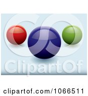 Clipart Shiny 3d Sphere Website Buttons Royalty Free Vector Illustration