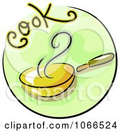 Clipart Cook Website Icon Royalty Free Vector Illustration