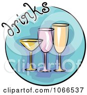Clipart Drinks Website Icon Royalty Free Vector Illustration