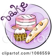 Clipart Bake Website Icon Royalty Free Vector Illustration