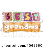 Best Grandma Patches Sewn Together