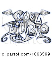 Clipart Cool Big Bro Sign Royalty Free Vector Illustration