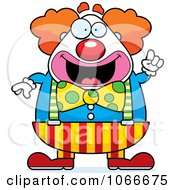 Pudgy Circus Clown With An Idea by Cory Thoman