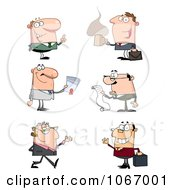 Clipart Business Men Royalty Free Vector Illustration