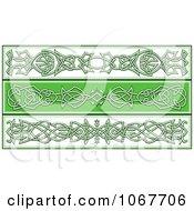 Clipart Irish Celtic Borders 1 Royalty Free Vector Illustration