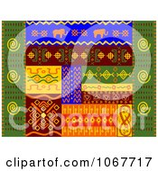 Clipart Ethnic Patterns Set 2 Royalty Free Vector Illustration