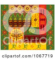 Clipart Ethnic Patterns Set 1 Royalty Free Vector Illustration