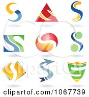 Clipart Letter S Logo Icons Royalty Free Vector Illustration