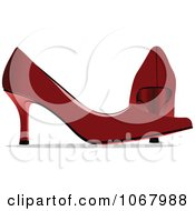 Clipart Red Heels Royalty Free Vector Illustration