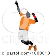 Clipart Tennis Man 5 Royalty Free Vector Illustration