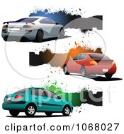 Clipart Car Website Banners 2 Royalty Free Vector Illustration by leonid
