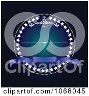 Clipart Ornate Invitation Background 4 Royalty Free Vector Illustration
