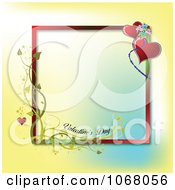 Clipart Valentines Day Background 3 Royalty Free Vector Illustration