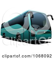 Clipart City Bus 6 Royalty Free Vector Illustration by leonid