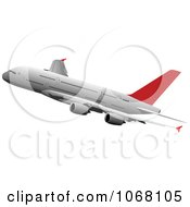 Clipart Airbus 19 Royalty Free Vector Illustration