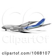 Clipart Airbus 11 Royalty Free Vector Illustration