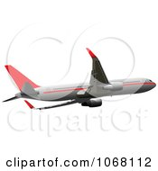 Clipart Airbus 12 Royalty Free Vector Illustration