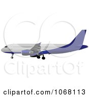 Clipart Airbus 22 Royalty Free Vector Illustration