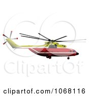 Clipart Helicopter 4 Royalty Free Vector Illustration