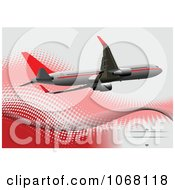 Clipart Airbus Background 9 Royalty Free Vector Illustration