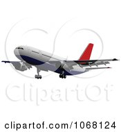 Clipart Airbus 14 Royalty Free Vector Illustration