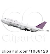 Clipart Airbus 9 Royalty Free Vector Illustration