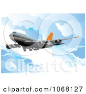 Clipart Airbus Background 11 Royalty Free Vector Illustration