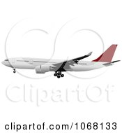 Clipart Airbus 17 Royalty Free Vector Illustration