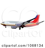 Clipart Airbus 20 Royalty Free Vector Illustration