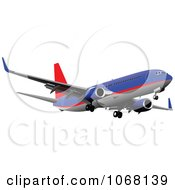 Clipart Airbus 13 Royalty Free Vector Illustration