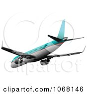Clipart Airbus 10 Royalty Free Vector Illustration
