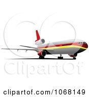 Clipart Airbus 23 Royalty Free Vector Illustration