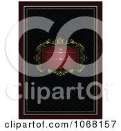 Clipart Ornate Invitation Background 6 Royalty Free Vector Illustration
