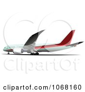Clipart Airbus 18 Royalty Free Vector Illustration