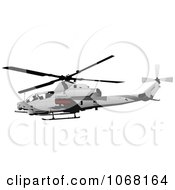 Clipart Helicopter 2 Royalty Free Vector Illustration