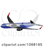 Clipart Airbus 16 Royalty Free Vector Illustration
