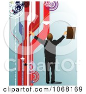Clipart Businessman Background 1 Royalty Free Vector Illustration