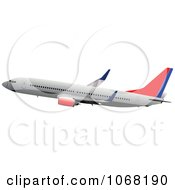 Clipart Airbus 21 Royalty Free Vector Illustration
